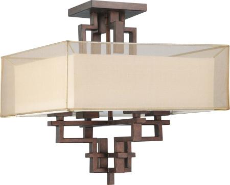 melanie-collection-close-to-ceiling-semi-flush-corvo-  sc 1 st  Lucent Lighting Inc. & Nuvo Lighting - Lucent Lighting Inc. | Lucent Lighting Inc. azcodes.com
